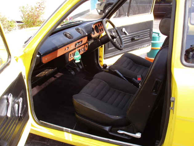 ford escort rs 2000 seats